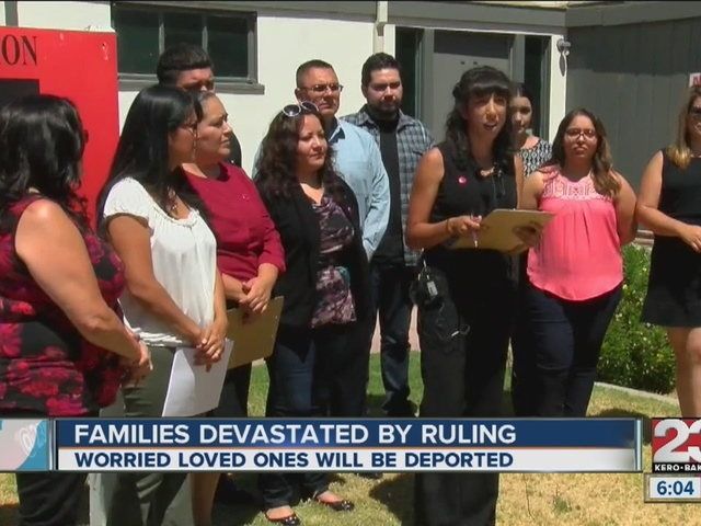 Families devastated by ruling