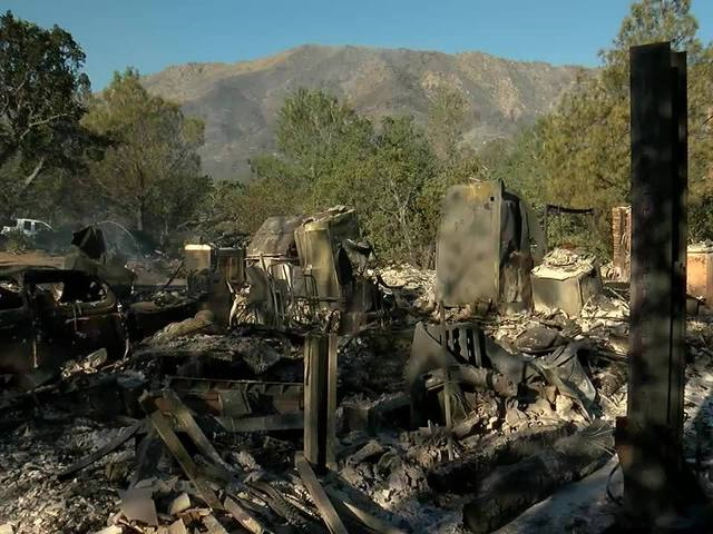 3 firefighters injured; 2 dead in Erskine Fire
