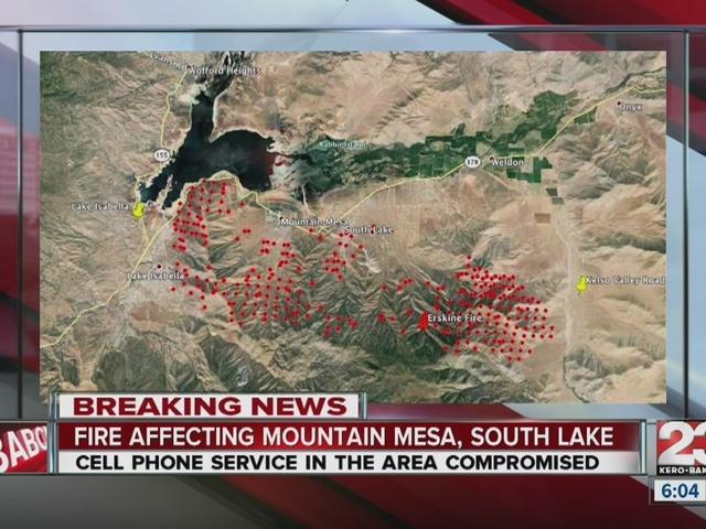 Erskine Fire destroys upwards of 100 homes in Lake Isabella, burns 30k…
