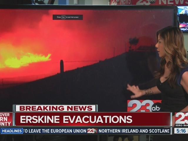 Erskine Fire engulfs Lake Isabella: 8,000 acres burning, 80 homes…