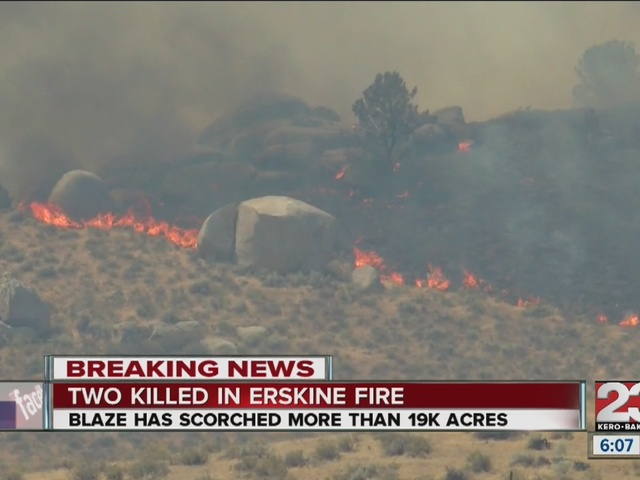 Erskine Fire turns deadly