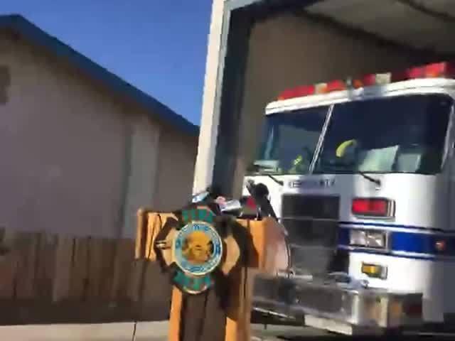 Kern County Fire Department, BLM, Kern County Fire Department discuss…