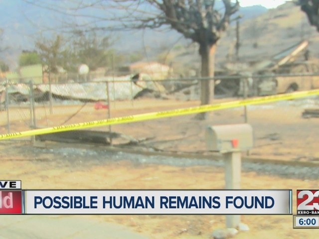 Possible human remains found in Lake Isabella