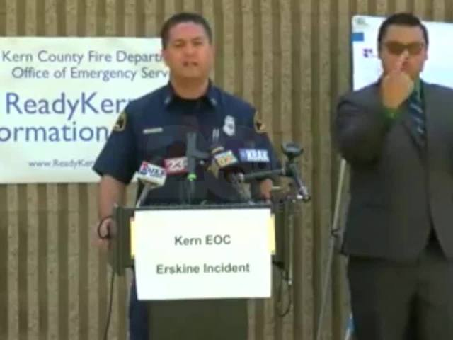 LIVE CONFERENCE: Erskine Fire Update; Fire now 40% contained