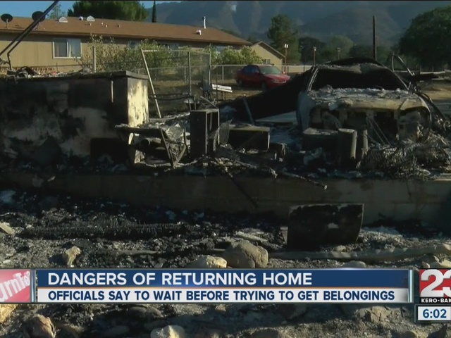 Residents feel like prisoners in burn zone