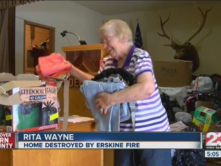 From Erskine fire victim to volunteer