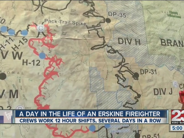 A look at a day in the life of an Erskine firefighter