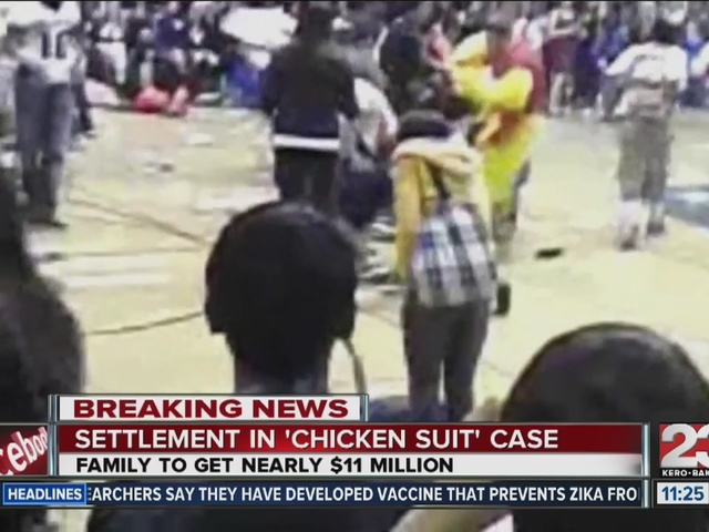 Settlement reached in chicken suit lawsuit