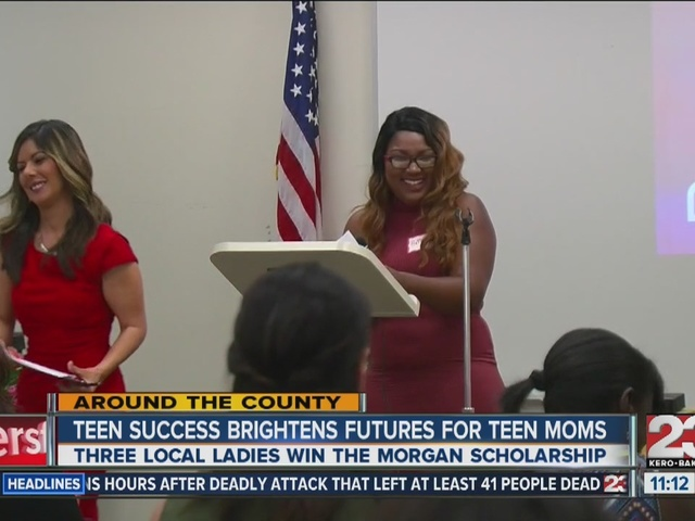 Three local young ladies win Teen Success scholarships, inspire other teen moms