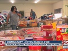 Donations continue to pour in for fire victims