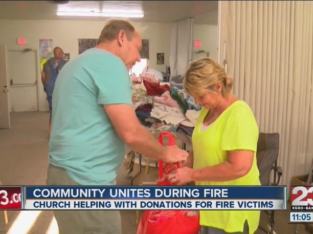 Erskine Donation center