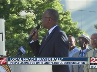 Bakersfield branch NAACP hosts prayer rally