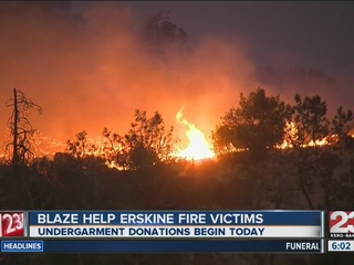 FEMA denies Erskine Fire relief