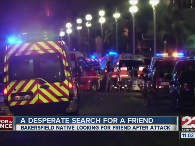 Local woman safe after Nice attack, friend missing