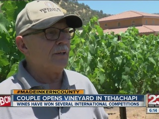 Made in Kern County: Souza Family Vineyad