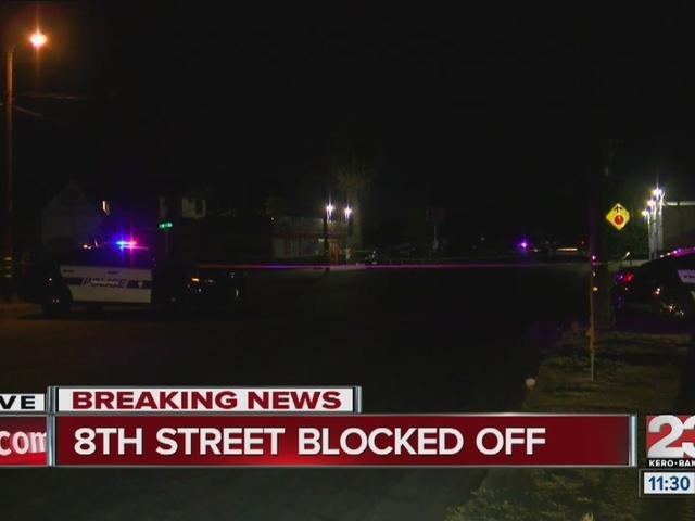 BPD block off corner of 8th and Q Streets