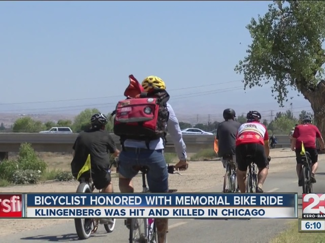 Bike ride held to remember local bicyclist killed in Chicago