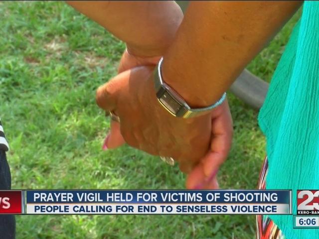 Prayer vigil held for shooting victims