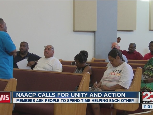 NAACP community meeting asks for unity