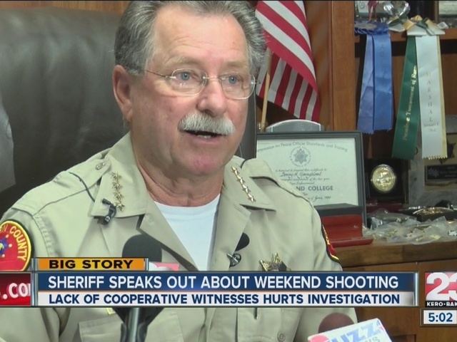 Sheriff speaks out about weekend shooting that injured 14
