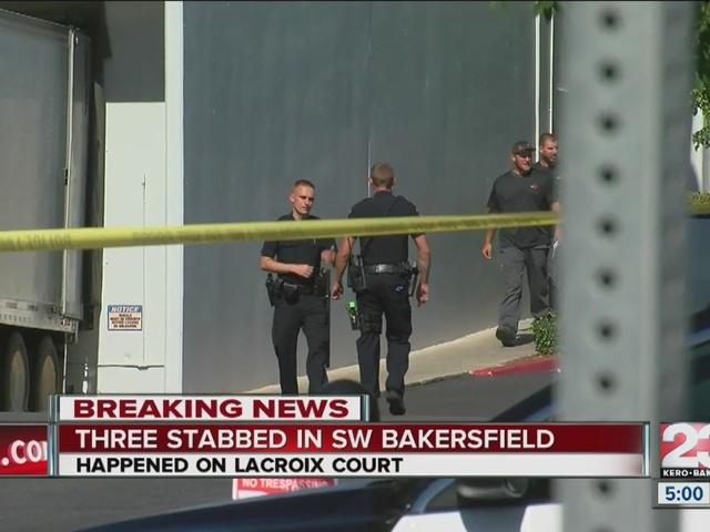 Three men stabbed in SW Bakersfield, 1 major injuries 2 minor injures