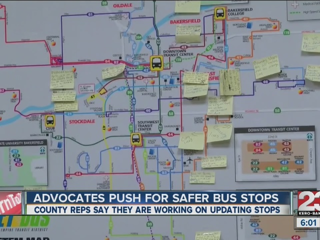 Advocates press for safer bus stops for the disabled