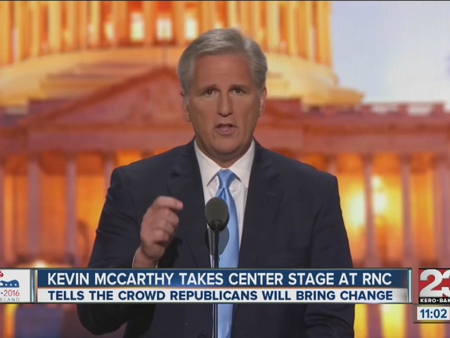 Congressman McCarthy speaks at RNC
