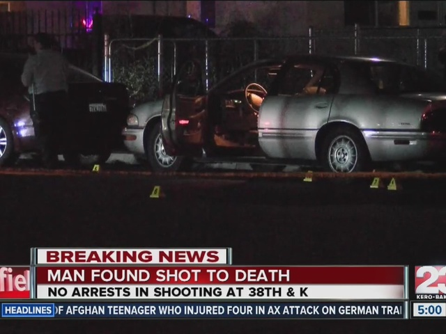 Deadly shooting at 38th & K