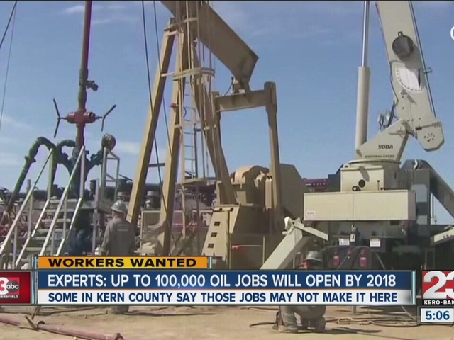 Oil jobs could rebound in the near future