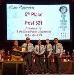 BPD wins award for crime prevention
