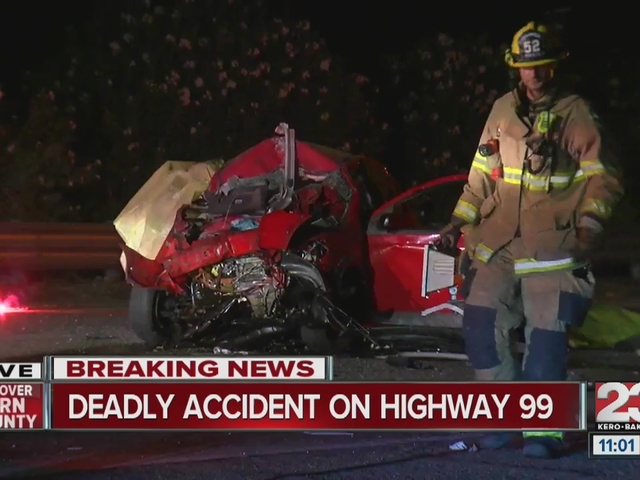Fatal crash shuts down Hwy 99