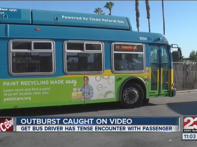 GET bus driver recorded after passenger uses racial slur