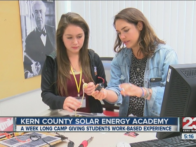 KHSD students participate in week long Solar Energy Academy