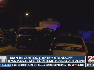 1 in custody following hours-long standoff