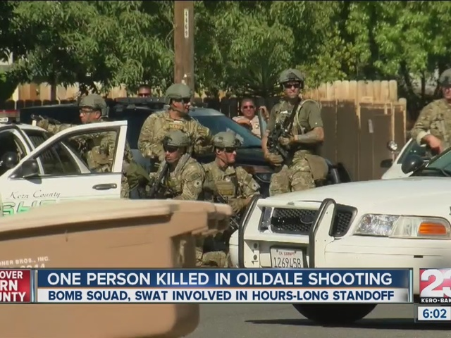 One person killed in Oildale shooting