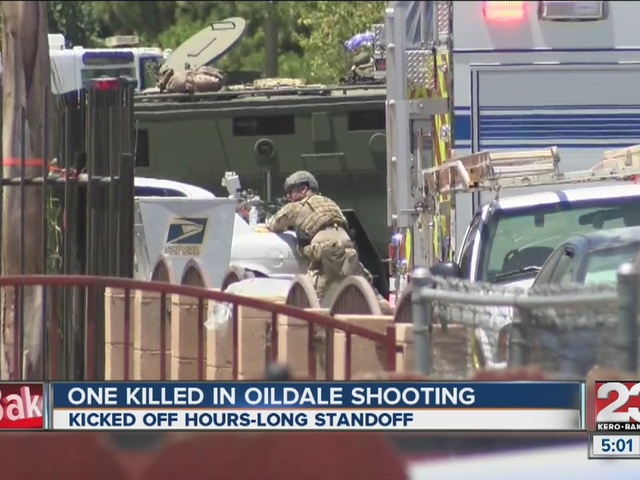 Neighbors react to standoff in Oildale