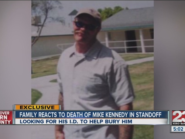 Family reacts to death of Mike Kennedy in standoff