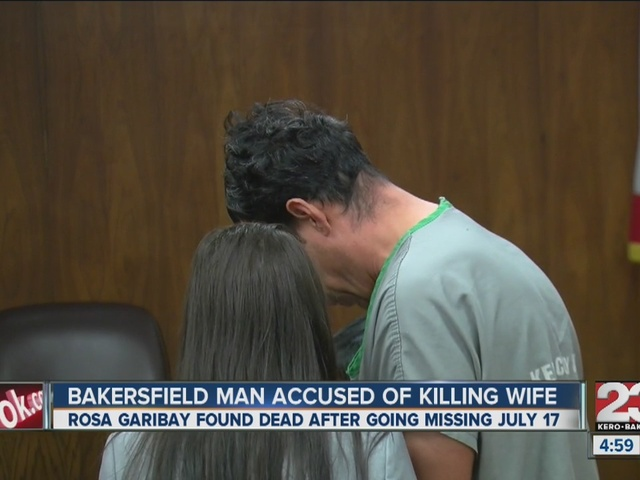 Man accused of killing wife appears in court