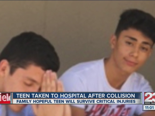 Teen still in critical condition after being hit by car