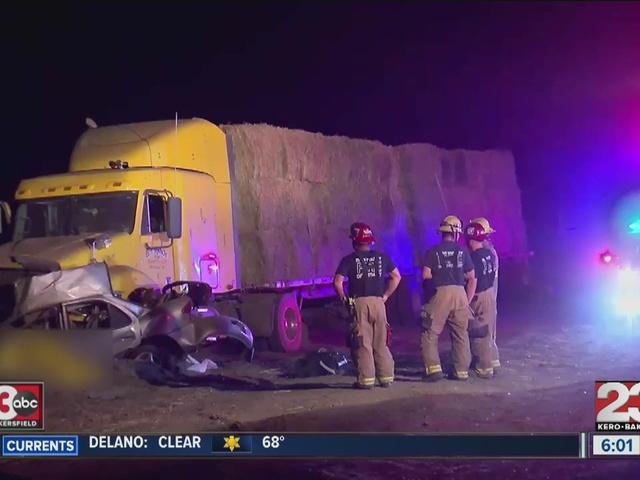 Deadly crash on Bear Mtn. Blvd.