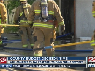 County to consider tax proposal