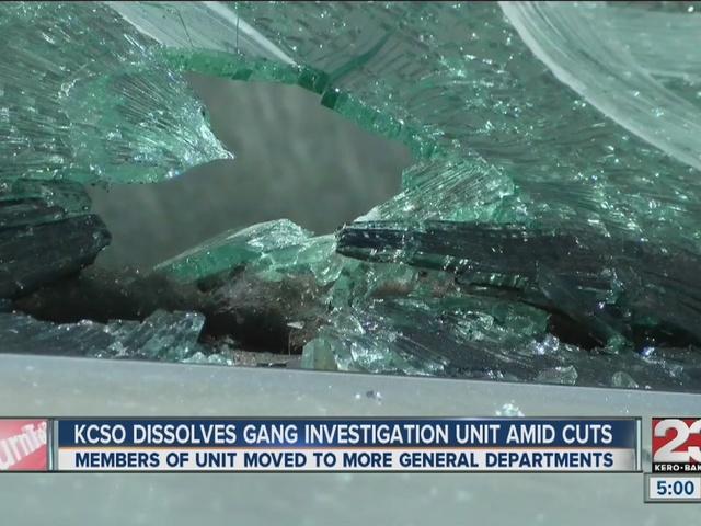 KCSO dissolves gang unit