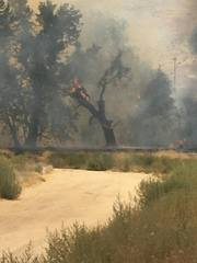 Fire in Northeast Bakersfield contained