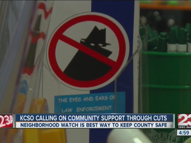 KCSO calling for community support through budget cuts