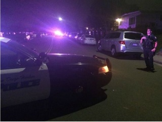 Two San Diego police officers shot