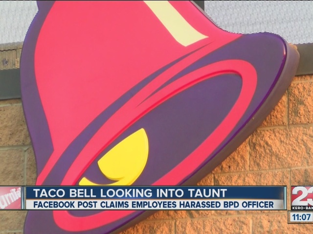 NW Bakersfield Taco Bell under investigation