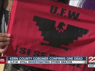 UFW still investigating farm worker deaths