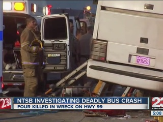 Bus driver charged in fatal California crash