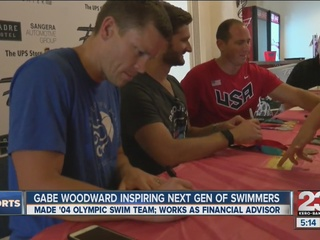 Local Olympian finds his calling after swimming