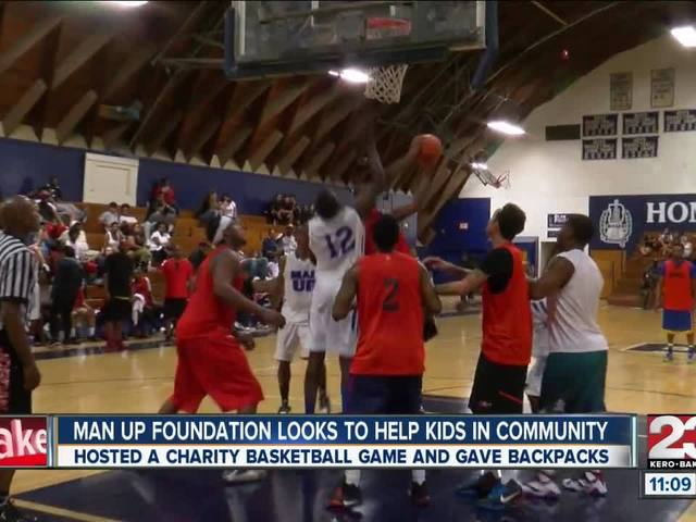 Man Up Foundation looks to help kids in the community
